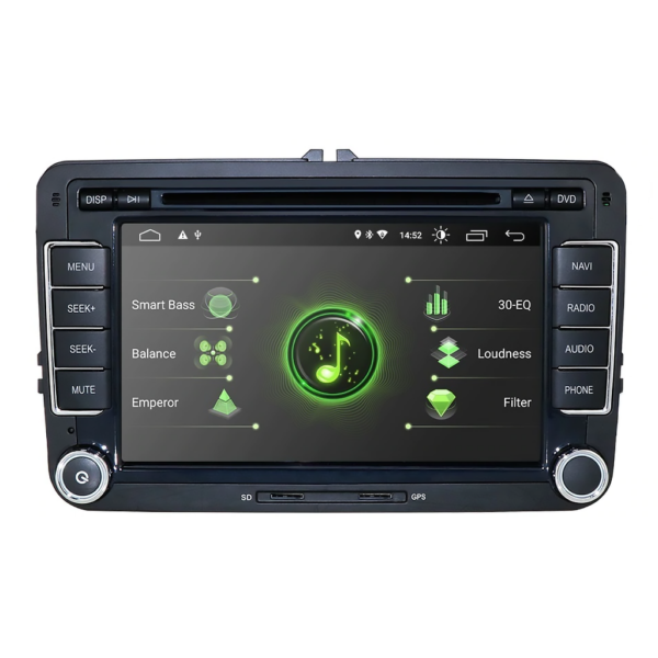 Android 10.0 Auton Mediasoitin Car Media Player for Volkswagen/Skoda/Seat