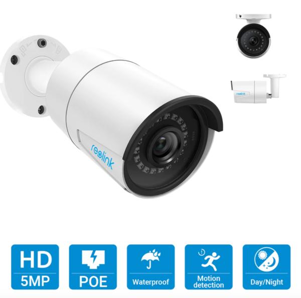 4 sisältyvää kameraa 5 mPix tarkkuudella.