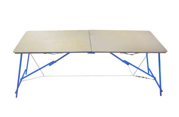 Folding bench for sauna tent